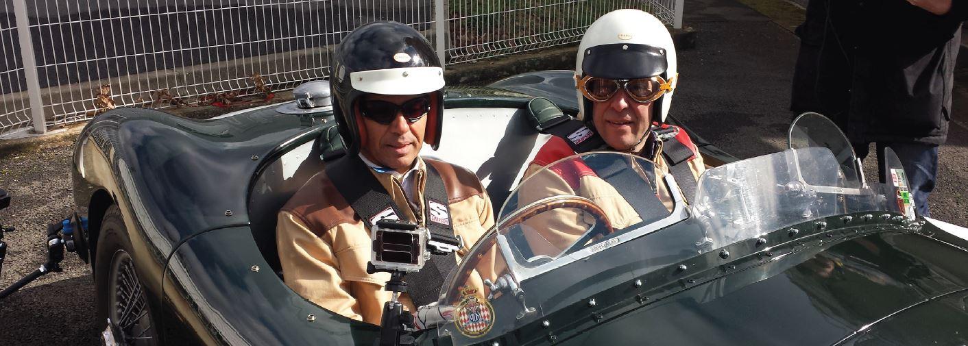François Allain et Paul Belmondo