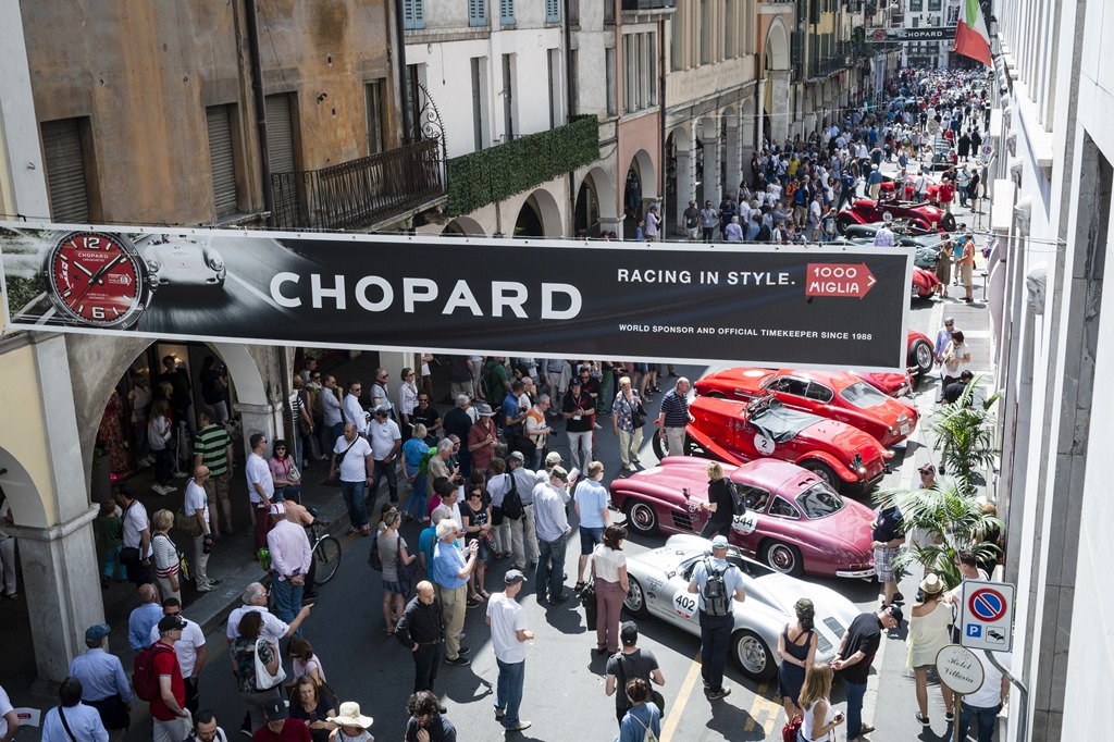 Cars and Atmosphere Hotel Vittoria Mille Miglia 2015, Brescia, Italy, 14th May 2015 (c) Alexandra Pauli for Chopard