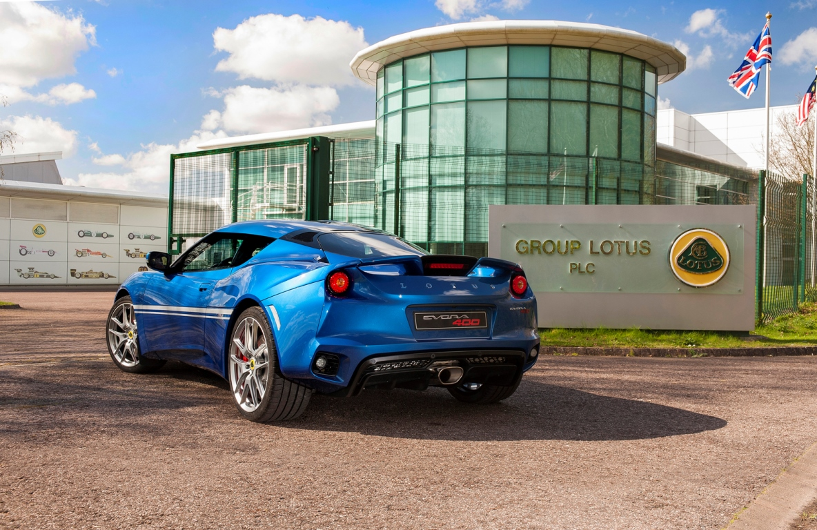 Lotus Evora 400 50th anniversary Hethel – 20160512-2