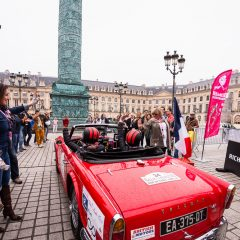 Rallye des Princesses 2016 : 1ère étape Paris-Dijon 'Singing in the rain…'