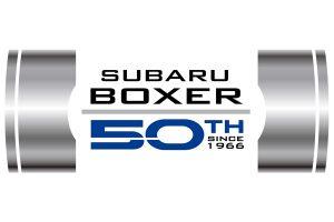Boxer Subaru 50th anniversary