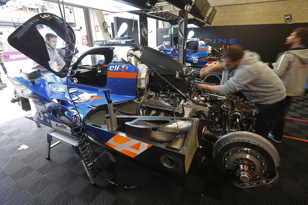 Alpine A460 #35 #36 - essais 24 Heures du Mans 2016