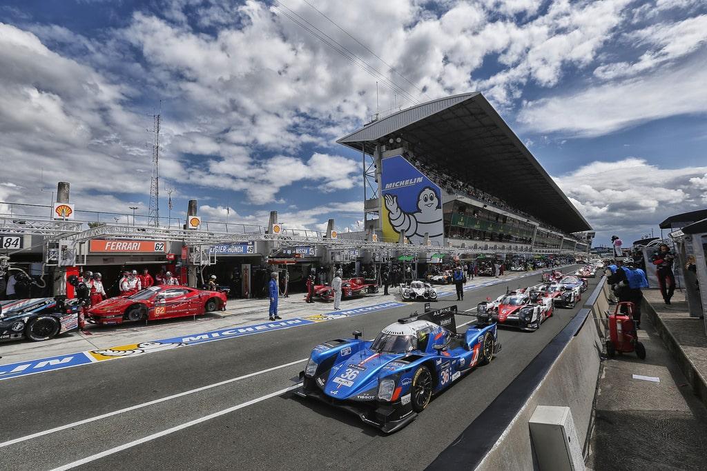 Alpine A460 #36 - essais 24 Heures du Mans 2016
