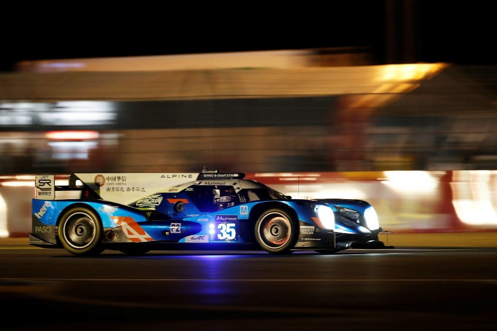 Alpine A460 #35 - essais 24 Heures du Mans 2016