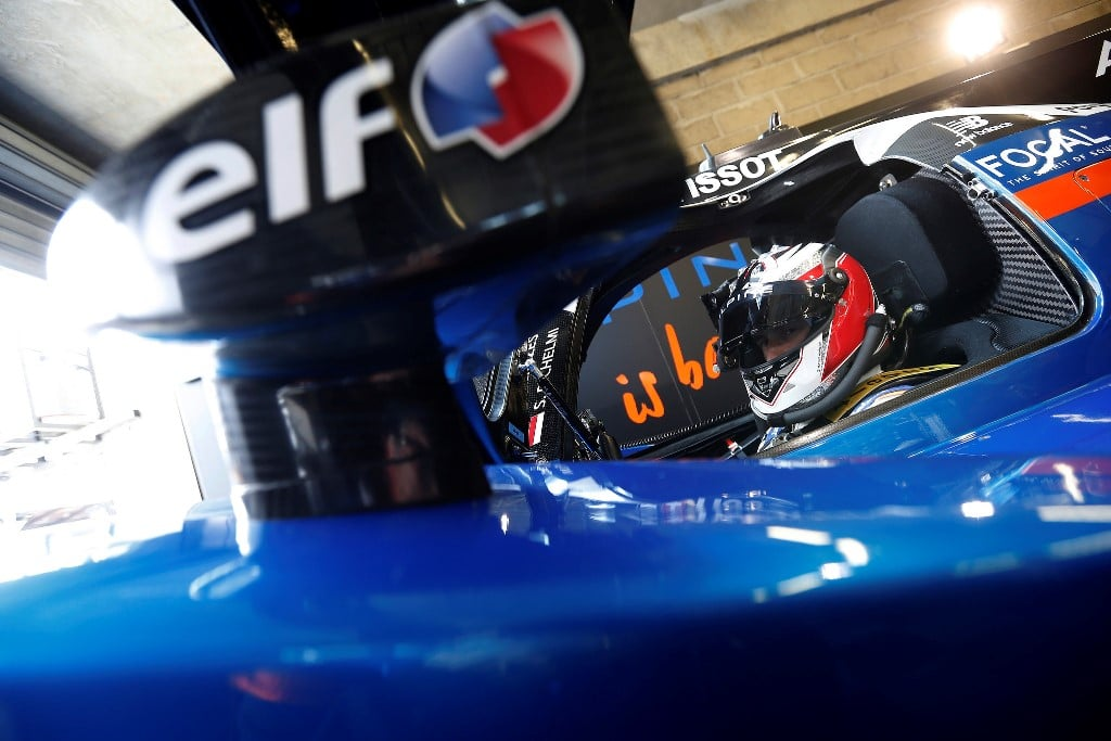 Alpine A460 - essais 24 Heures du Mans 2016