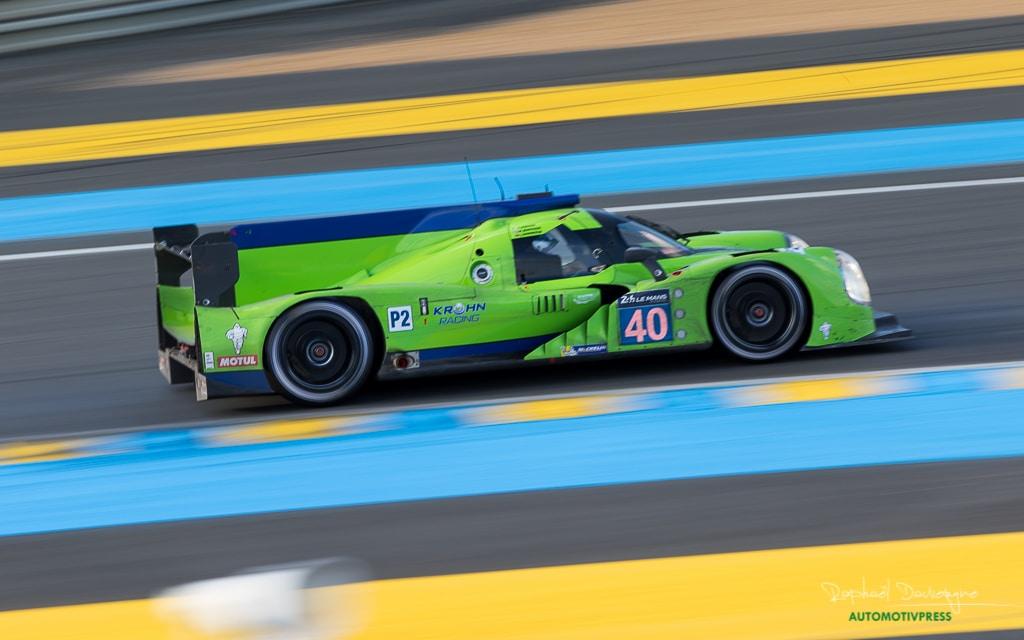 24 Heures du Mans 2016 - Course/Race - Raphael Dauvergne - LMP2