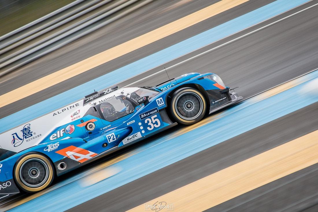 Alpine A460 #35 - 24 Heures du Mans 2016