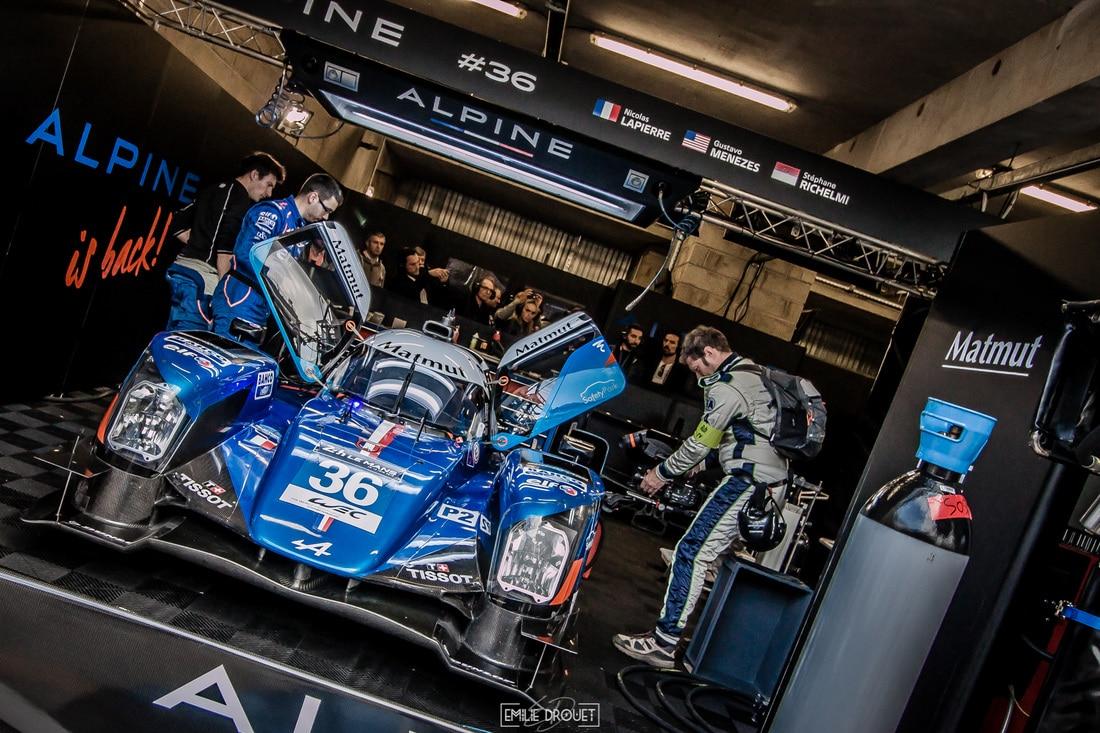 24 Heures du Mans 2016 - Course/Race - Emilie Drouet - Alpine