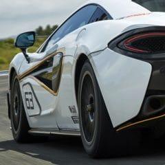 """McLaren 570S Sprint : Pour les journées circuit et """"gentlemen drivers"""""""
