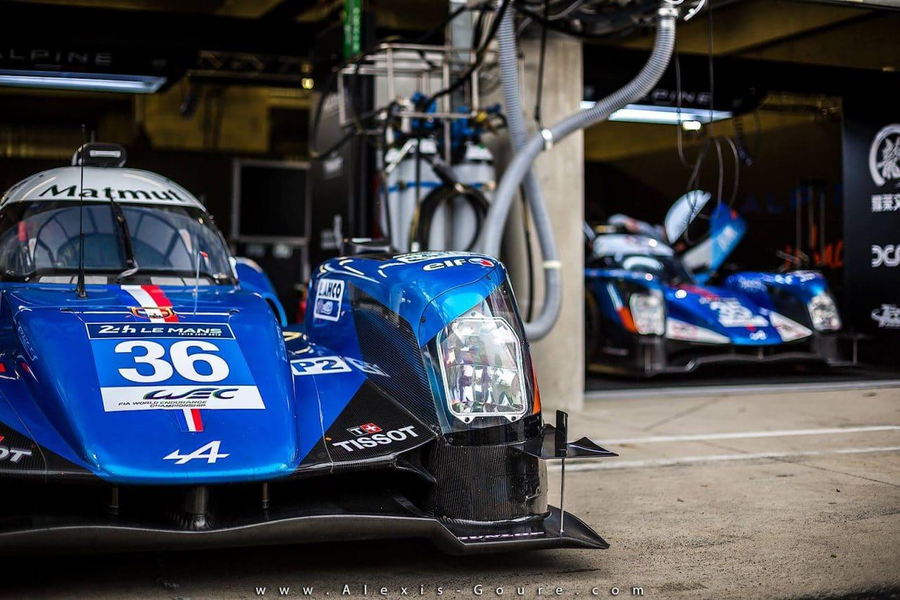 Alpine A460 #35 #36 - Journée test 24 Heures du Mans 2016 - 2
