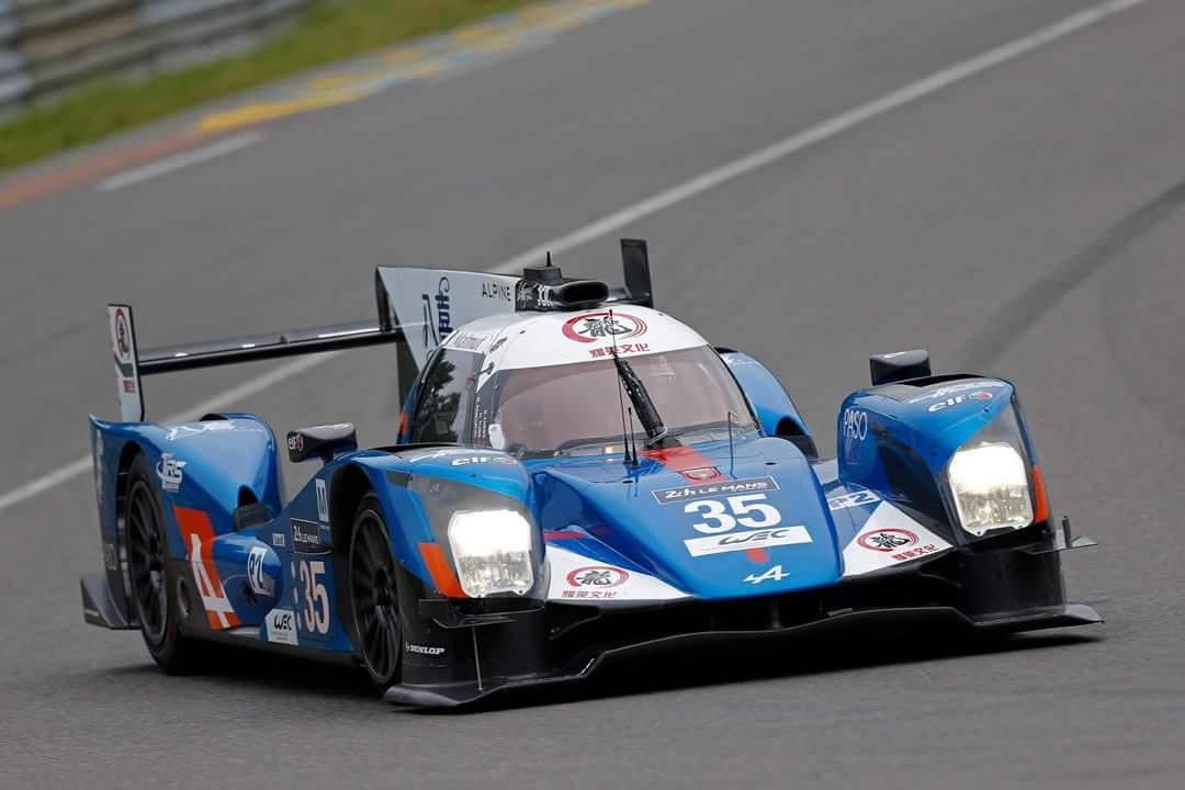 Alpine A460 #35 - Journée test 24 Heures du Mans 2016