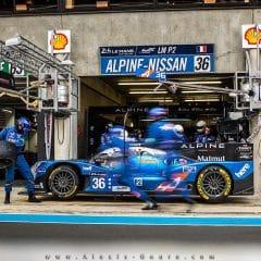 24 Heures du Mans 2016 : Journée test, Alpine bien placé en LMP2