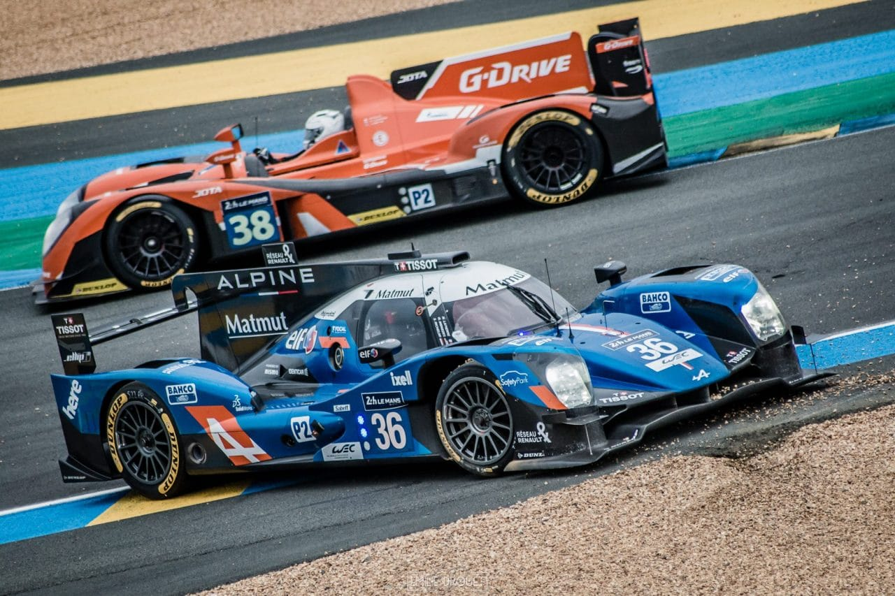 24 heures du mans 2016 journ e test alpine bien plac en lmp2 automotiv press. Black Bedroom Furniture Sets. Home Design Ideas