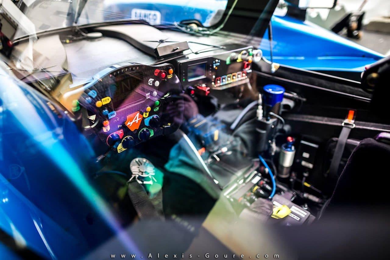 Alpine A460 – Journée test 24 Heures du Mans 2016 – 1