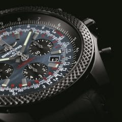 Breitling for Bentley B06 Midnight Carbon : Black is back !