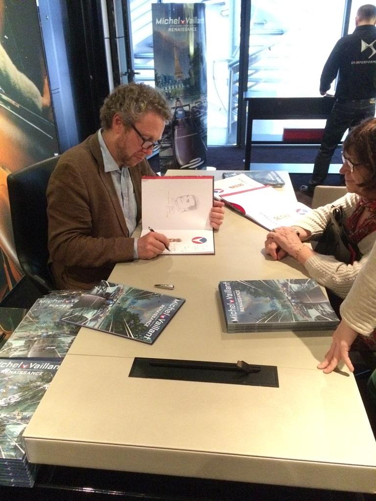 Le DS World expose Michel Vaillant