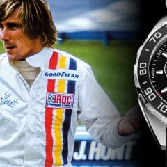 Festival of Speed de Goodwood 2016 : TAG Heuer présente le chronographe Formula 1 James Hunt Limited Edition