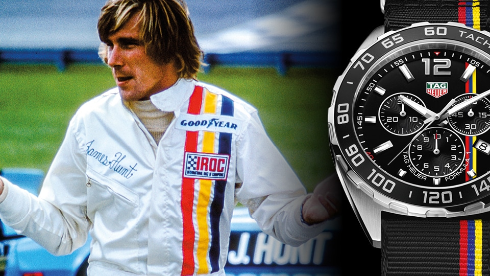 TAG Heuer chronographe Formula 1 James Hunt Limited Edition
