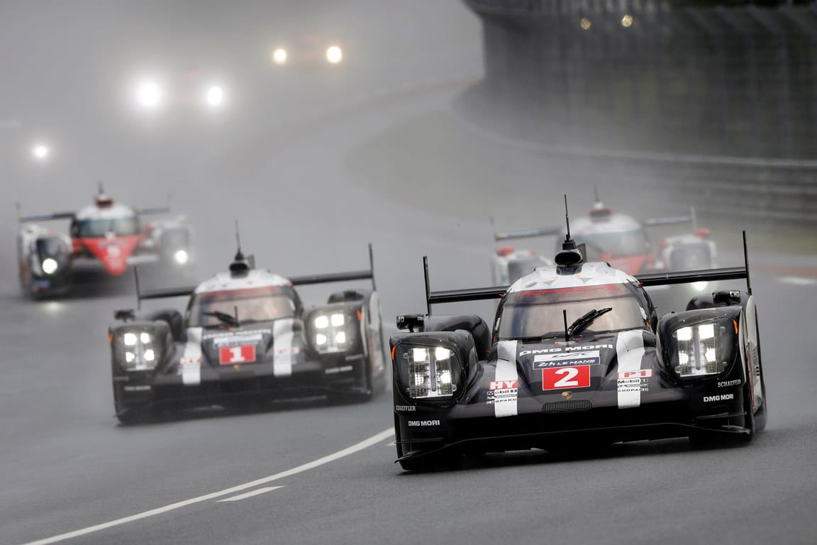 Porsche 919 Hybrid (2), Porsche Team: Romain Dumas, Neel Jani, Marc Lieb, Porsche Team (1): Timo Bernhard, Brendon Hartley, Mark Webber