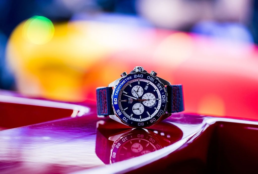 TAG Heuer Formula 1 Red Bull Racing Team Special Edition Chronograph 1