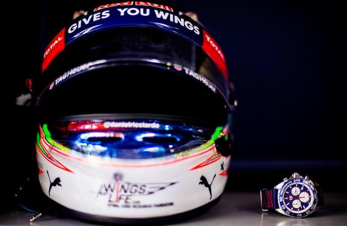 Tag Heuer Red Bull F1 Racing CAZ1018.FC8213 - Helmet daniel Riccardo