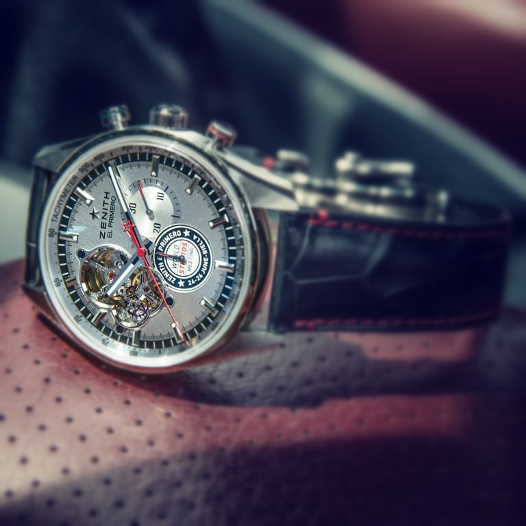 "Zenith El Primero Chronomaster ""World Stratos Meeting Edition"""