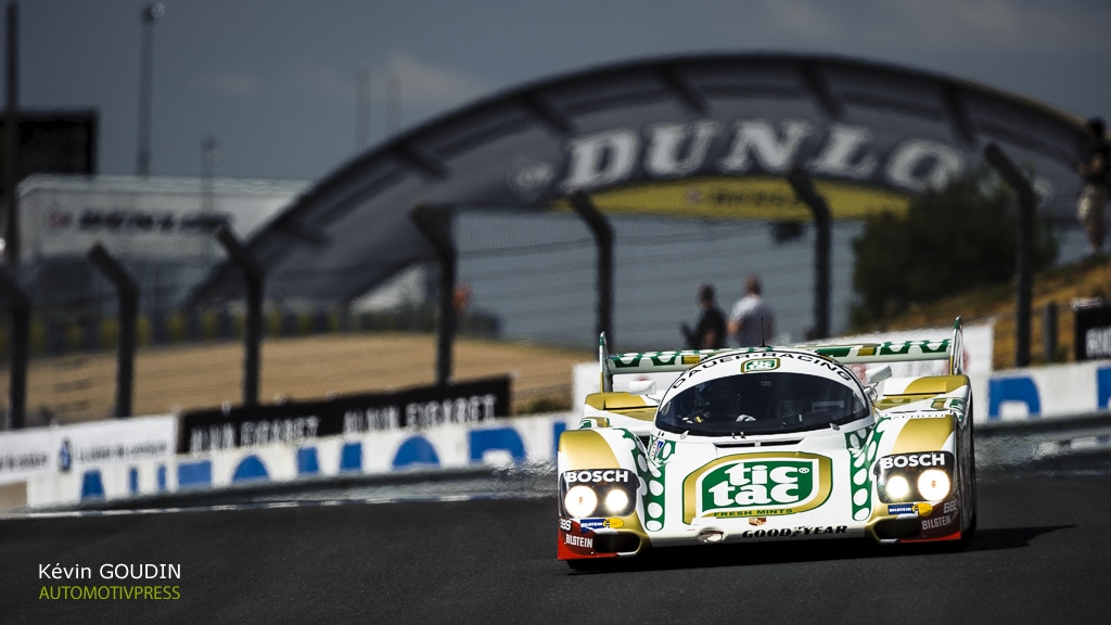 Le Mans Classic 2016- Group C - Kevin Goudin