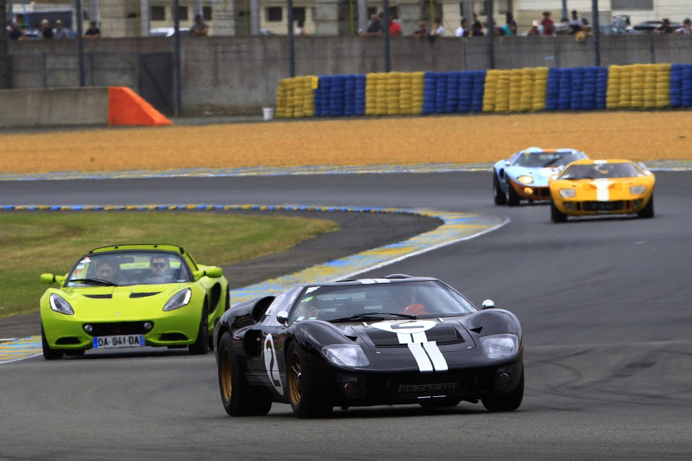 Ford GT40 MkII - Le Mans Classic 2016 - Olivier Pla