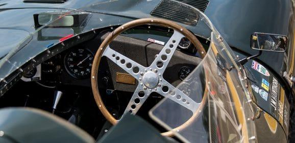 Le Mans Classic 2016 : Andy Wallace « Le Mans Winner », Jaguar Type D #XKD 505