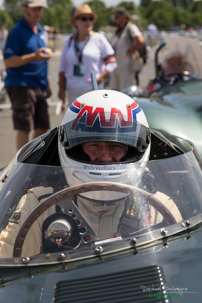 Le Mans Classic 2016 - Jaguar Type D Andy Wallace - Raphael Dauvergne