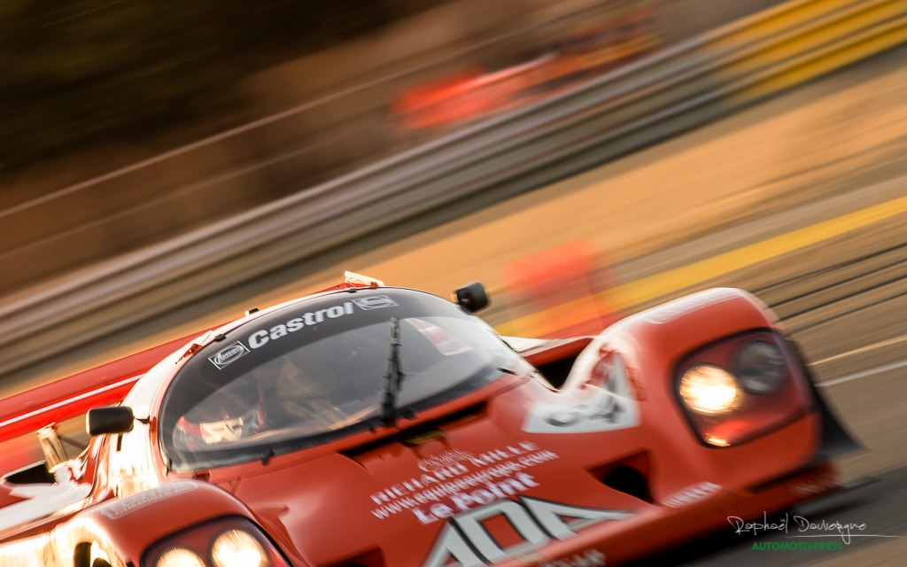 Le Mans Classic 2016- Group C - Raphael Dauvergne
