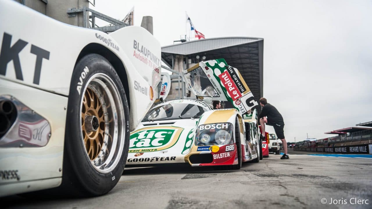 Le Mans Classic 2016- Group C - Joris Clerc