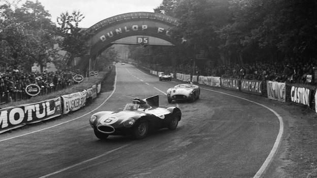 Jaguar Type D Le Mans 1955