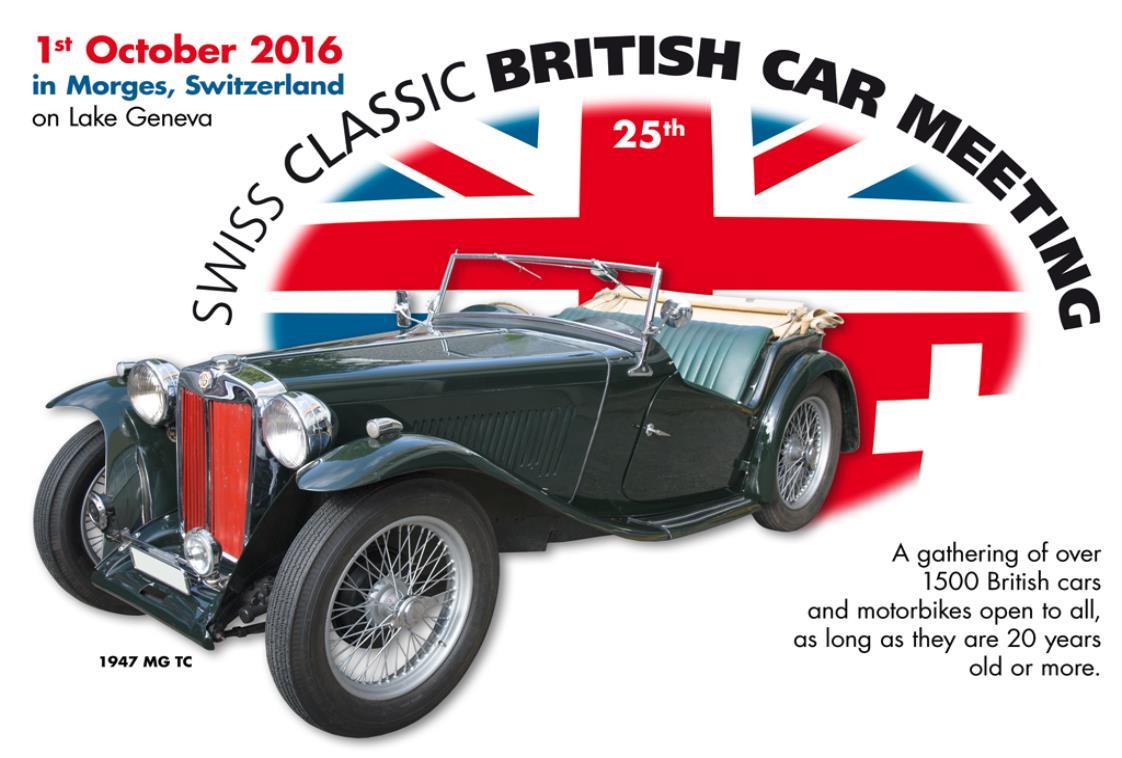 British Car Show Morges