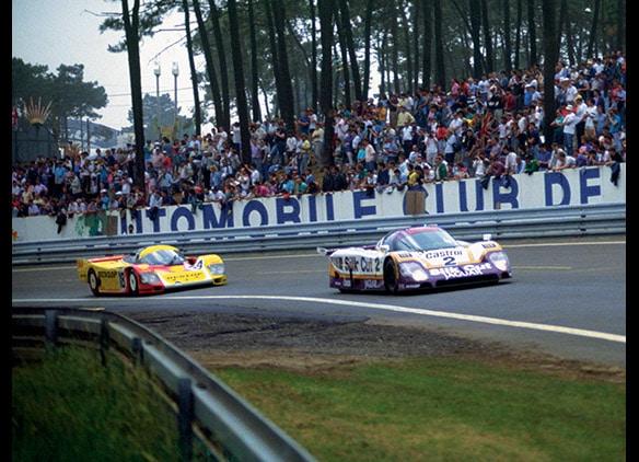 Jaguar XJR9-LM Le Mans 1988