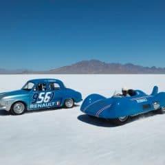 L'Etoile Filante de Renault de retour sur le Lac Salé de Bonneville 60 ans après !