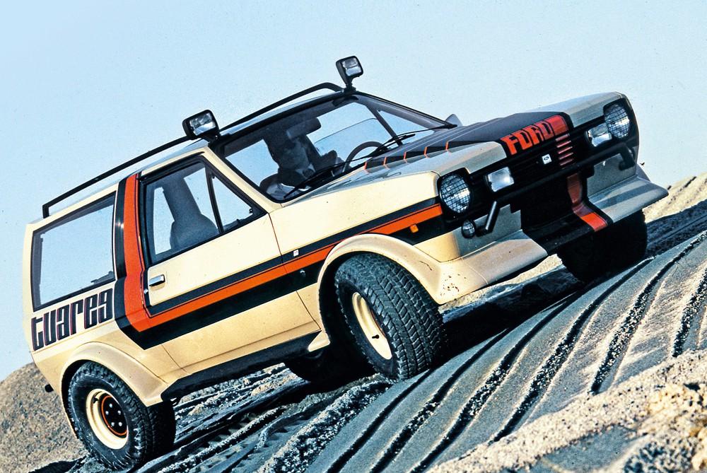 Ford Fiesta Ghia Tuareg