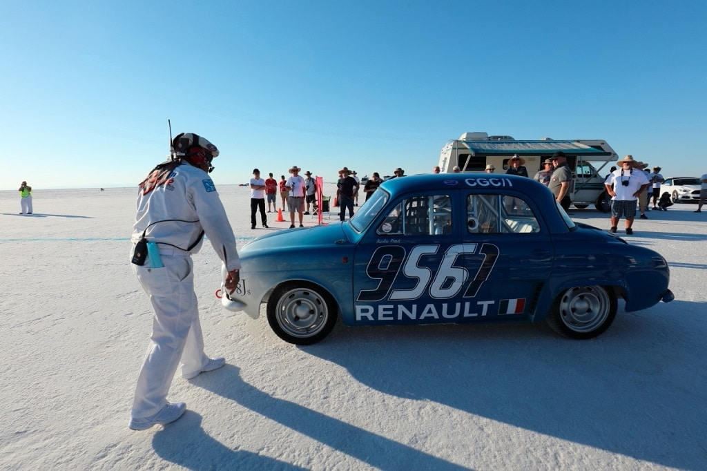 Renault Dauphine - Nicolas Prost