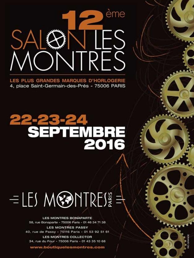 Salon Les Montres 2016