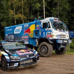 VW Polo R WRC vs Kamaz, le duel improbable