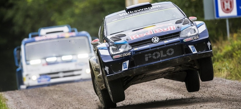 VW Polo R WRC vs Kamaz