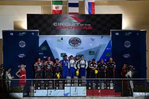 FIA WEC 6 Heures d'Austin - Podium LMP2