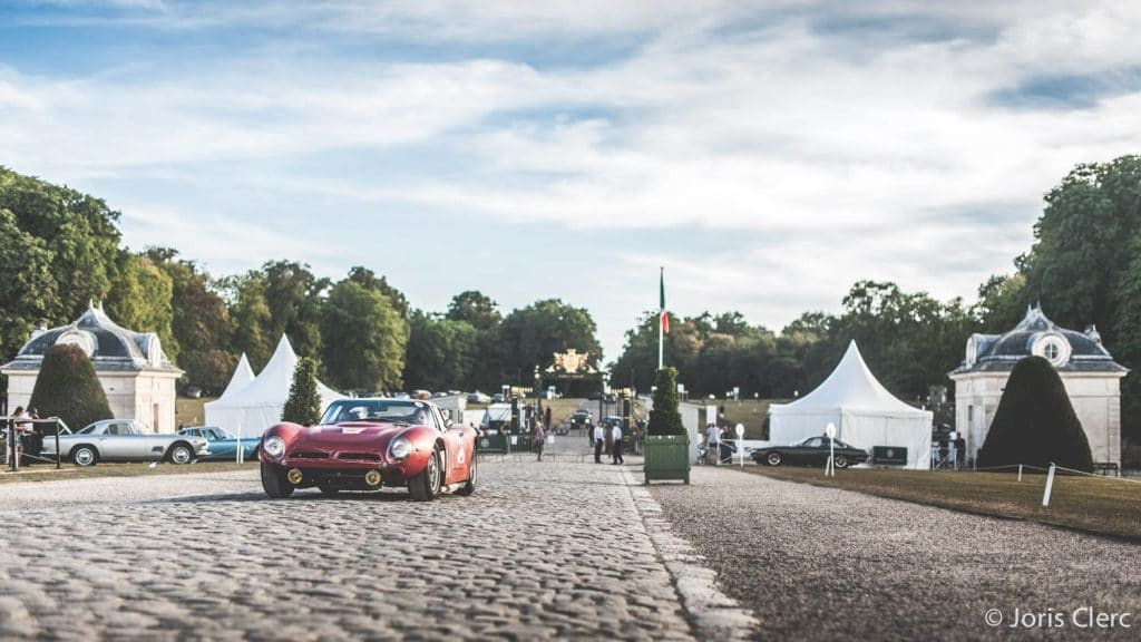 Chantilly Arts & Elegance - Mise en place