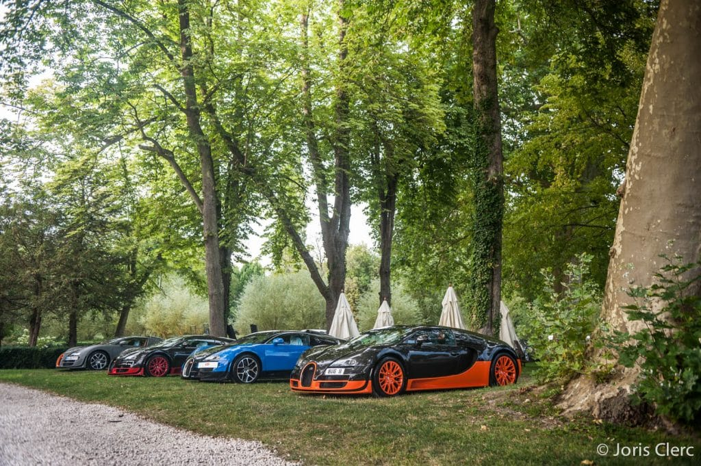 Chantilly Arts & Elegance - Rallye Supercars