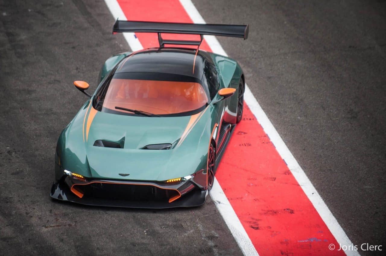 Aston Martin Vulcan - Spa Francorchamps - Joris Clerc
