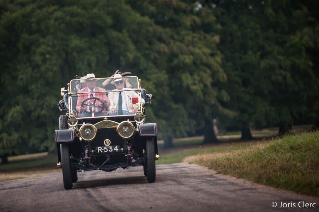 Concours of Elegance - Arrivée du rallye touristique
