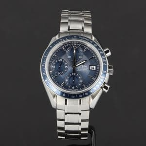 Omega Speedmaster automatique bleue