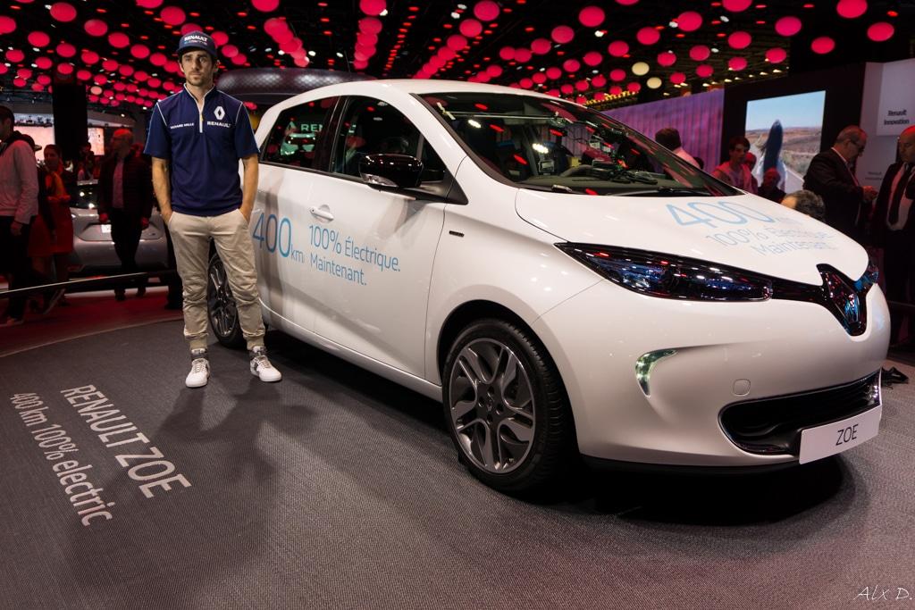 Paris 2016 - Rencontre avec Renault Sport - N. Prost