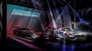 Mercedes Benz nigth piscine Molitor - Paris 2016