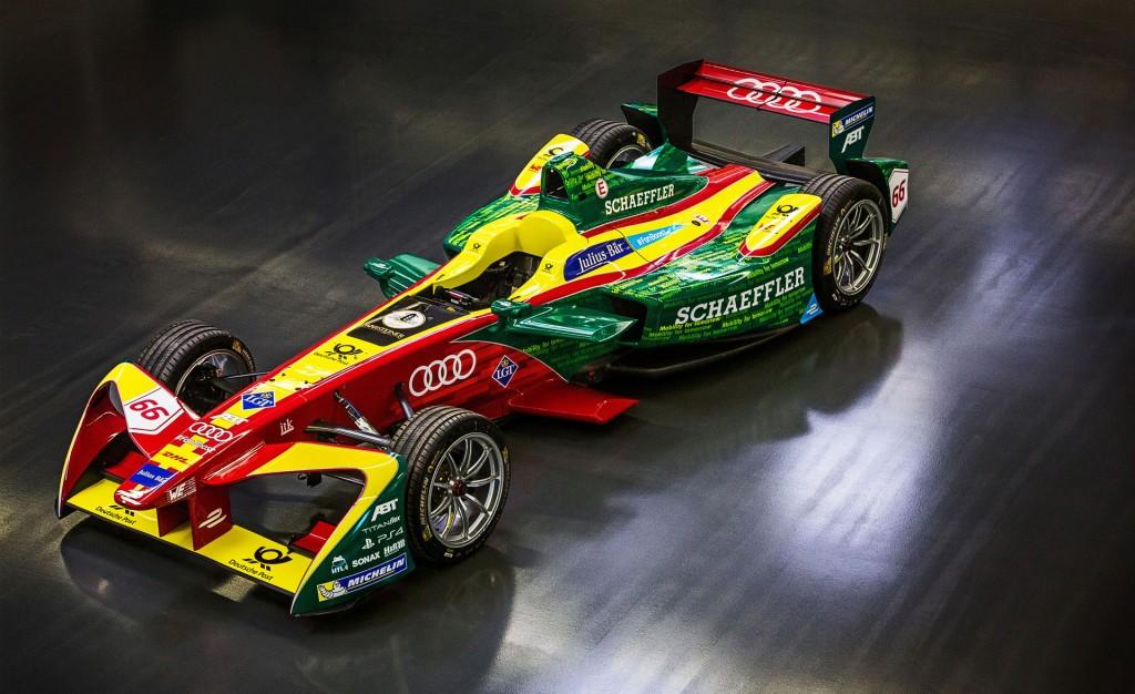 Formula E team ABT Schaeffler Audi Sport